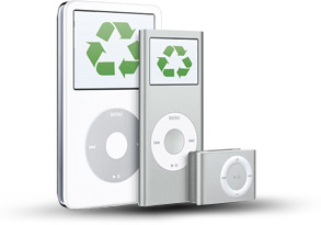 Apple now recycles iPods and cellphones